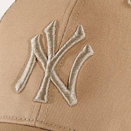 '47 Brand - Casquette Trucker New York Yankees MVP Branston BRANS17CTP Beige