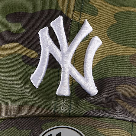 '47 Brand - Casquette New York Yankees Clean Up CARGW17GWSNL Vert Kaki Camouflage