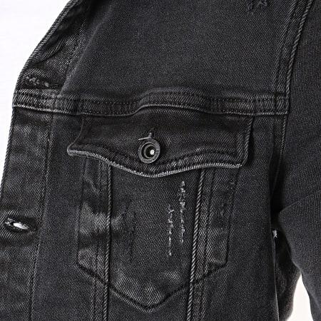 Classic Series - Veste Jeans DH-2537 Noir