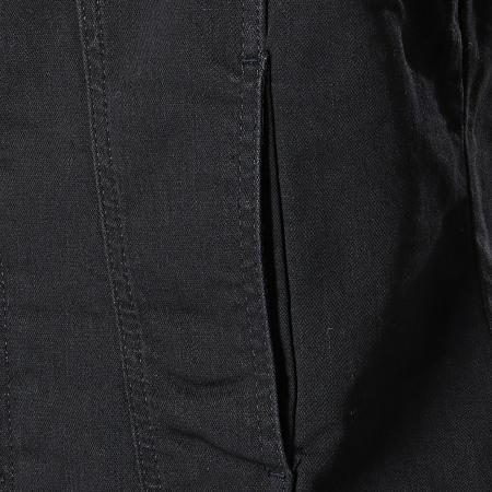 Classic Series - Veste Jean Col Mouton 6459 Noir