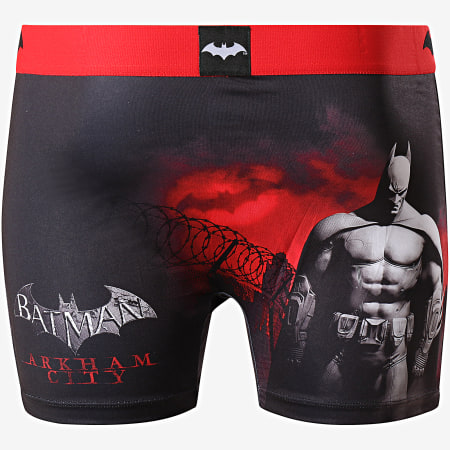 Freegun - Boxer DC 8 Batman Noir Rouge