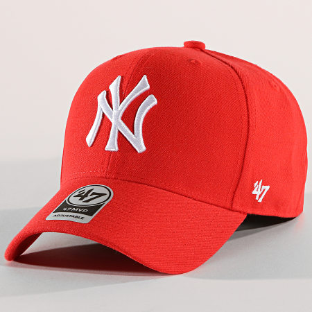 '47 Brand - Casquette New York Yankees MVP MVPSP17WBP Rouge