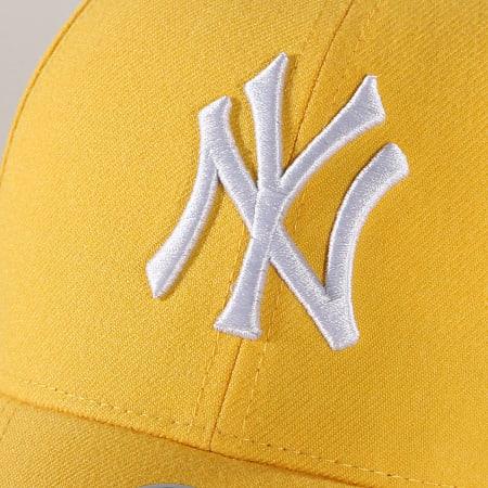 '47 Brand - Casquette New York Yankees MVP MVPSP17WBP Jaune