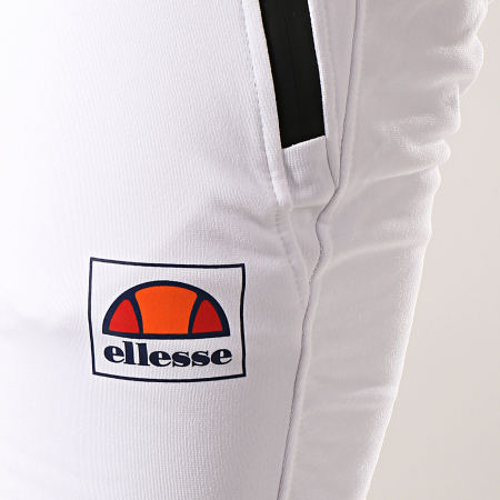 Ellesse - Pantalon Jogging Rayure 1034N Blanc