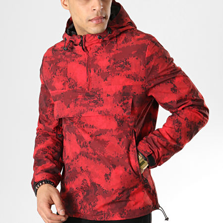 MTX - Coupe-Vent Camouflage 33955 Rouge