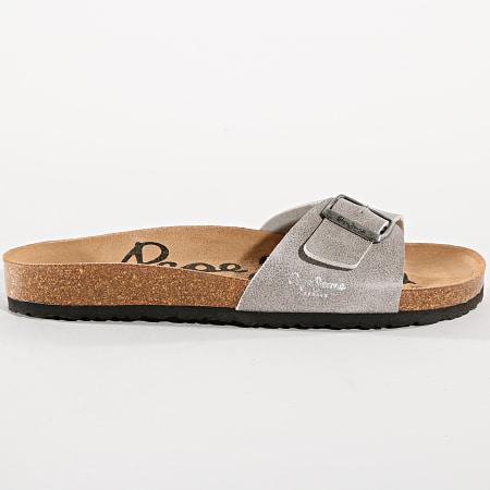 Pepe Jeans - Sandales Bio PMS90010 Gris Clair