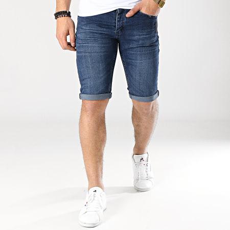 Classic Series - Short Jean 2380 Bleu Denim