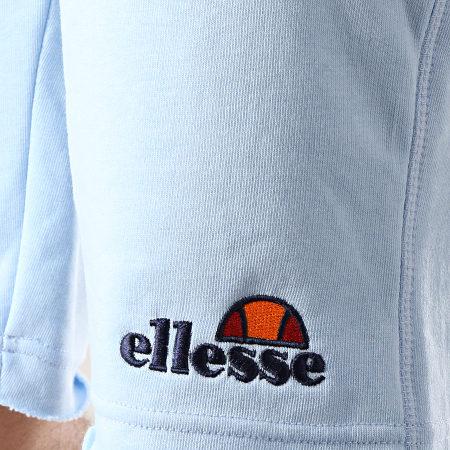 Ellesse - Short Jogging Molleton 1033N Bleu Clair