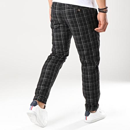 MTX - Pantalon A Carreaux 5283E Noir