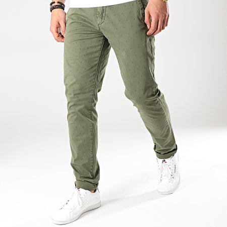 MTX - Pantalon Chino K099 Vert Kaki