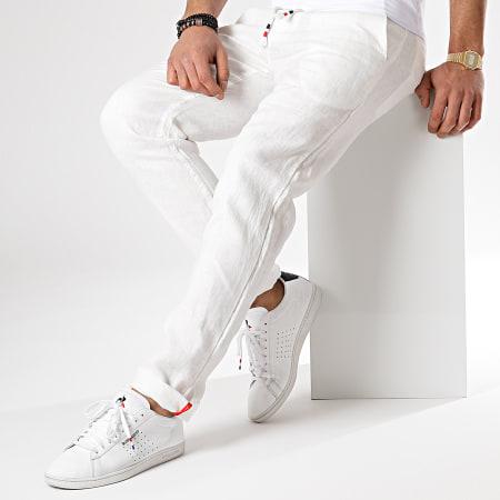 MTX - Pantalon En Lin 5287 Ecru
