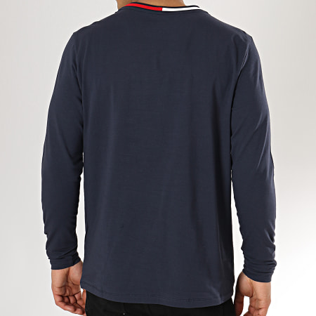 Tommy Hilfiger Jeans - Tee Shirt Manches Longues 1174 Bleu Marine