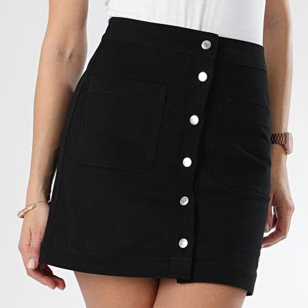 Calvin Klein - Jupe Femme Twill 0373 Noir