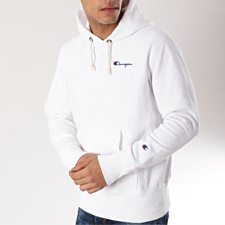 Champion Sweat Capuche 212967 Blanc