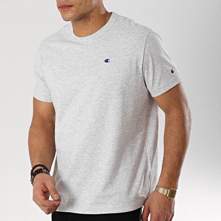 Champion - Tee Shirt 212974 Gris Chiné