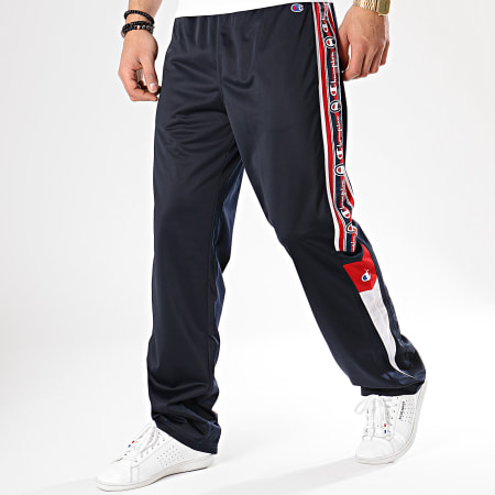 Champion - Pantalon Jogging Avec Bandes 213049 Bleu Marine