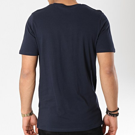 Jack And Jones - Tee Shirt Corp Logo Bleu Marine