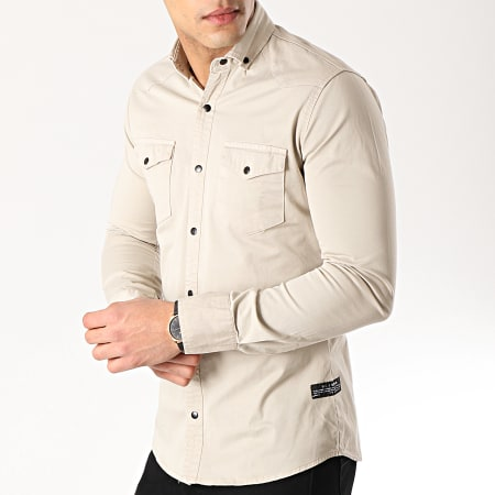 Classic Series - Chemise Manches Longues 16421 Beige