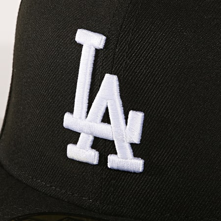 New Era - Casquette Fitted Los Angeles Dodgers Basic 10047495 Noir
