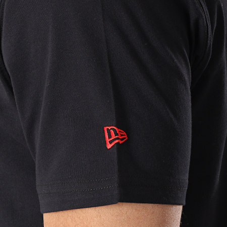 New Era - Tee Shirt Team Logo Chicago Bulls 11530755 Noir