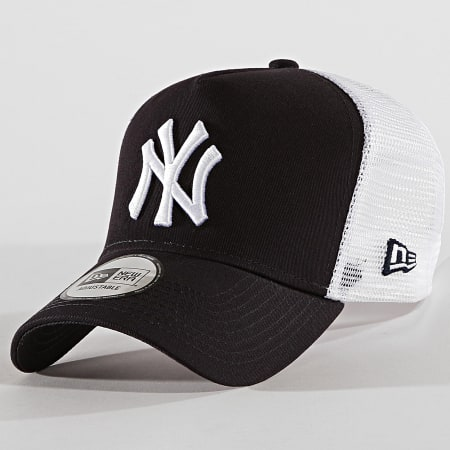 New Era - Casquette Trucker Clean New York Yankees 11588499 Bleu Marine Blanc