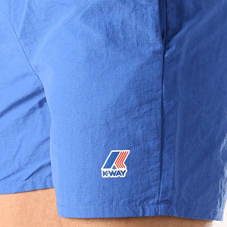 K-Way - Short De Bain Le Vrai Olivier 3.0 Bleu Roi
