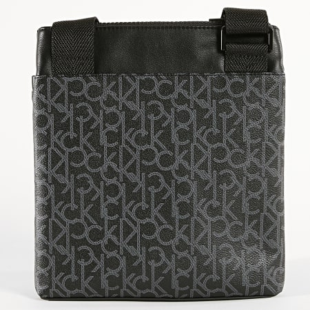 Calvin Klein - Sacoche Mono Flat Crossover 4348 Noir Gris