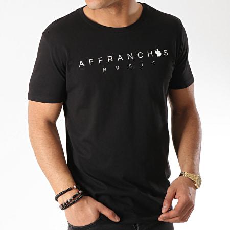 Sofiane - Tee Shirt Affranchis Music Noir