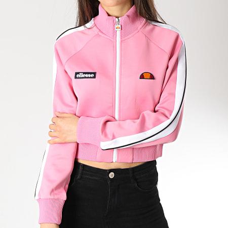 Ellesse - Veste Zippée Crop Femme Pinzo SGA06652 Rose