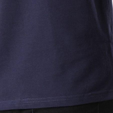 MTX - Polo manches Courtes F1039 Bleu Marine Floral
