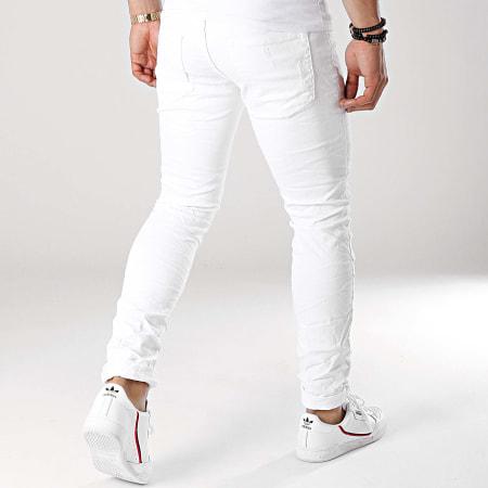 MTX - Jean Slim KE6703 Blanc