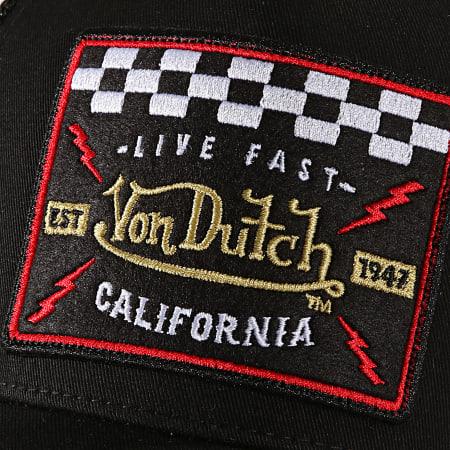 Von Dutch - Casquette Trucker Blacky Noir