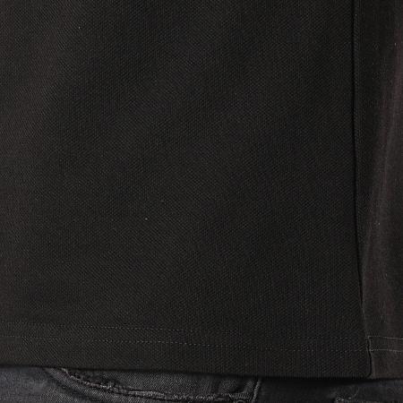Frilivin - Polo Manches Courtes AP7233 Noir Blanc