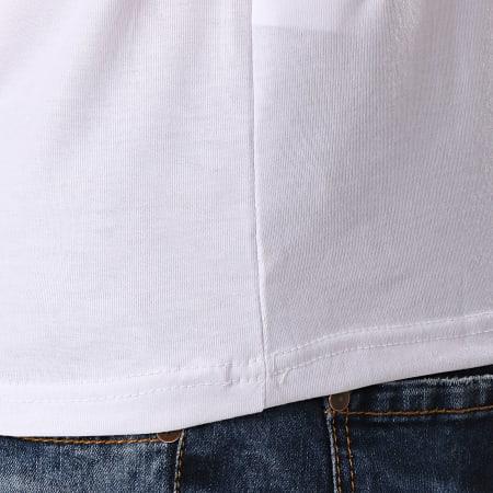 John H - Tee Shirt TSM-02 Blanc Renaissance