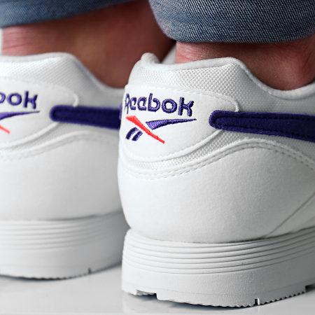 Reebok - Baskets Rapide Mu DV3805 White Team Purple  Neon Red
