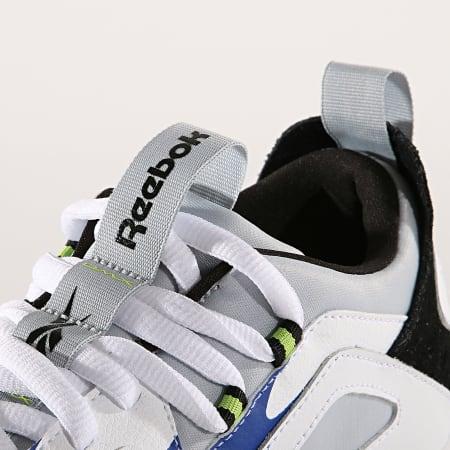 Reebok - Baskets DMX Series 1200 Leather DV7537 White Cloud Grey Blue Lime