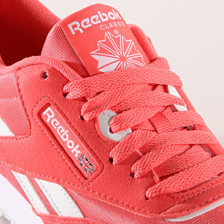 Reebok - Baskets Femme Classic Nylon Color CN7444 Bright Rose White