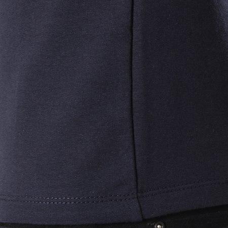 Aarhon - Tee Shirt 19-025 Bleu Marine Blanc Rouge