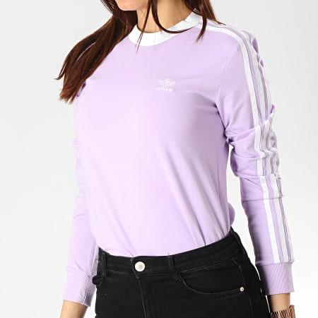tee shirt manche longue adidas femme