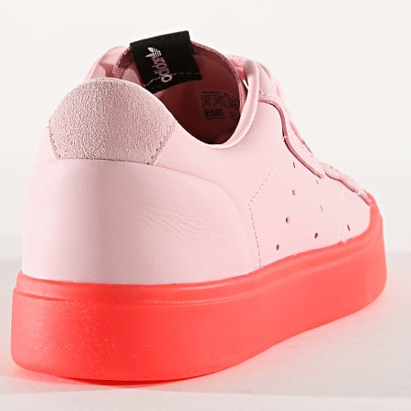 adidas - Baskets Femme Sleek BD7475 Diva Red