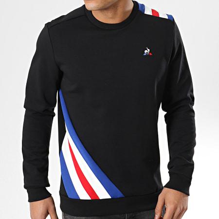Le Coq Sportif - Sweat Crewneck Tricolore N9 1911459 Noir