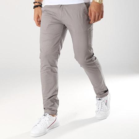 Terance Kole - Pantalon Chino 2901 Gris