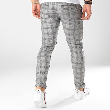Classic Series - Pantalon A Carreaux 1013 Gris