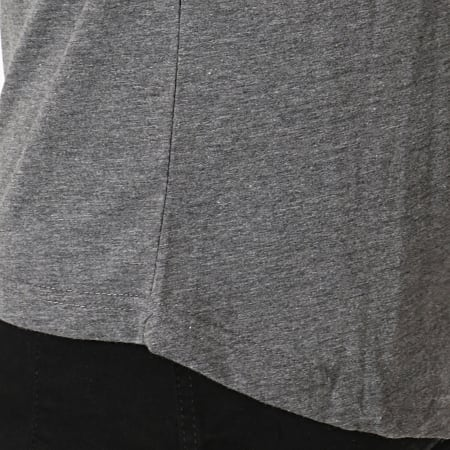 Classic Series - Tee Shirt Oversize 140 Gris Anthracite Chiné
