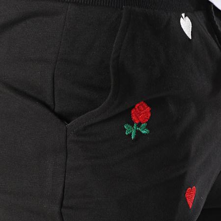 Berry Denim - Short Jogging 18075 Noir