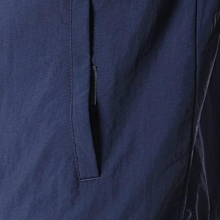 Deeluxe - Veste Zippée Capuche S19610 Bleu Marine Blanc Rouge