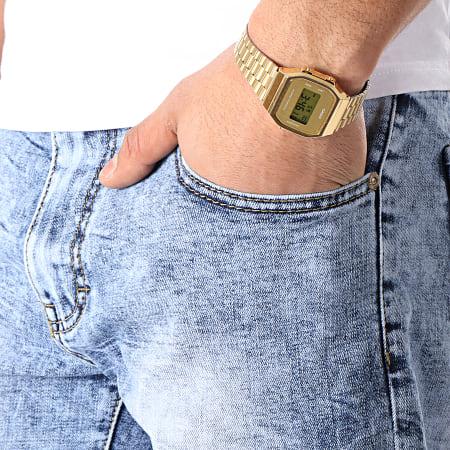 Frilivin - Short Jean Slim JD-9924 Bleu Denim