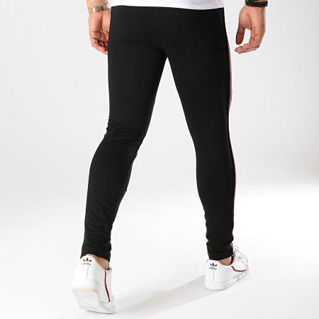 Brave Soul - Pantalon Jogging A Bandes Sally Noir