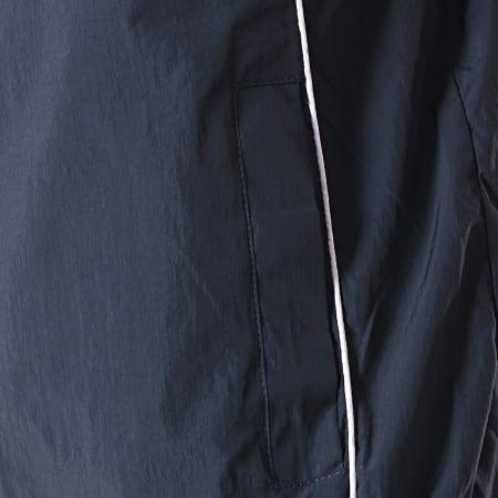 Brave Soul - Veste Zippée Jesse Bleu Marine Blanc Rouge