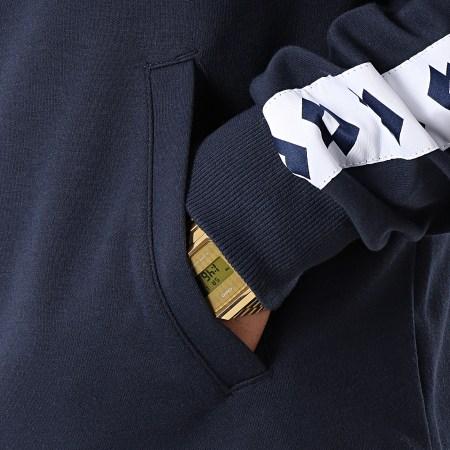 Lotto - Veste Zippée Avec Bandes Athletica 211190 Bleu Marine